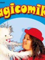 Magicomik - Art Dû - theatre - 13006 - spectacle jeune public - magie - ventriloquie