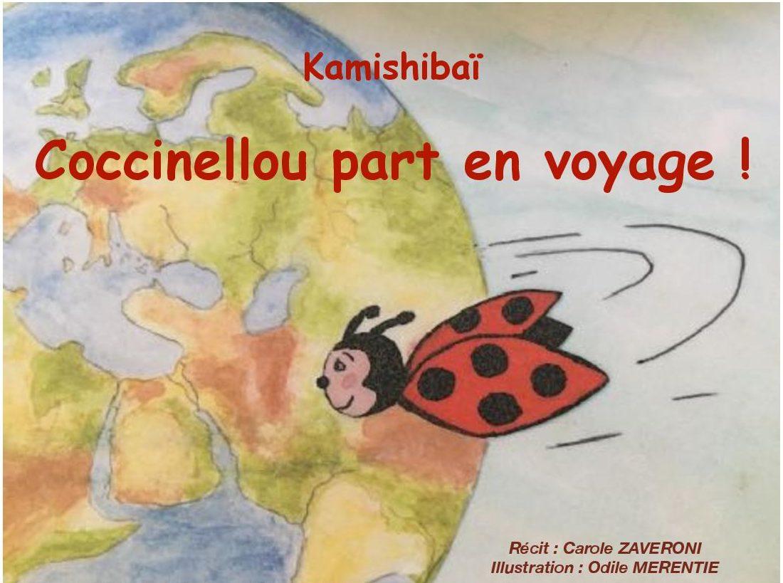 Les voyages de coccinellou - spectacle enfant - Art du theatre - 13006