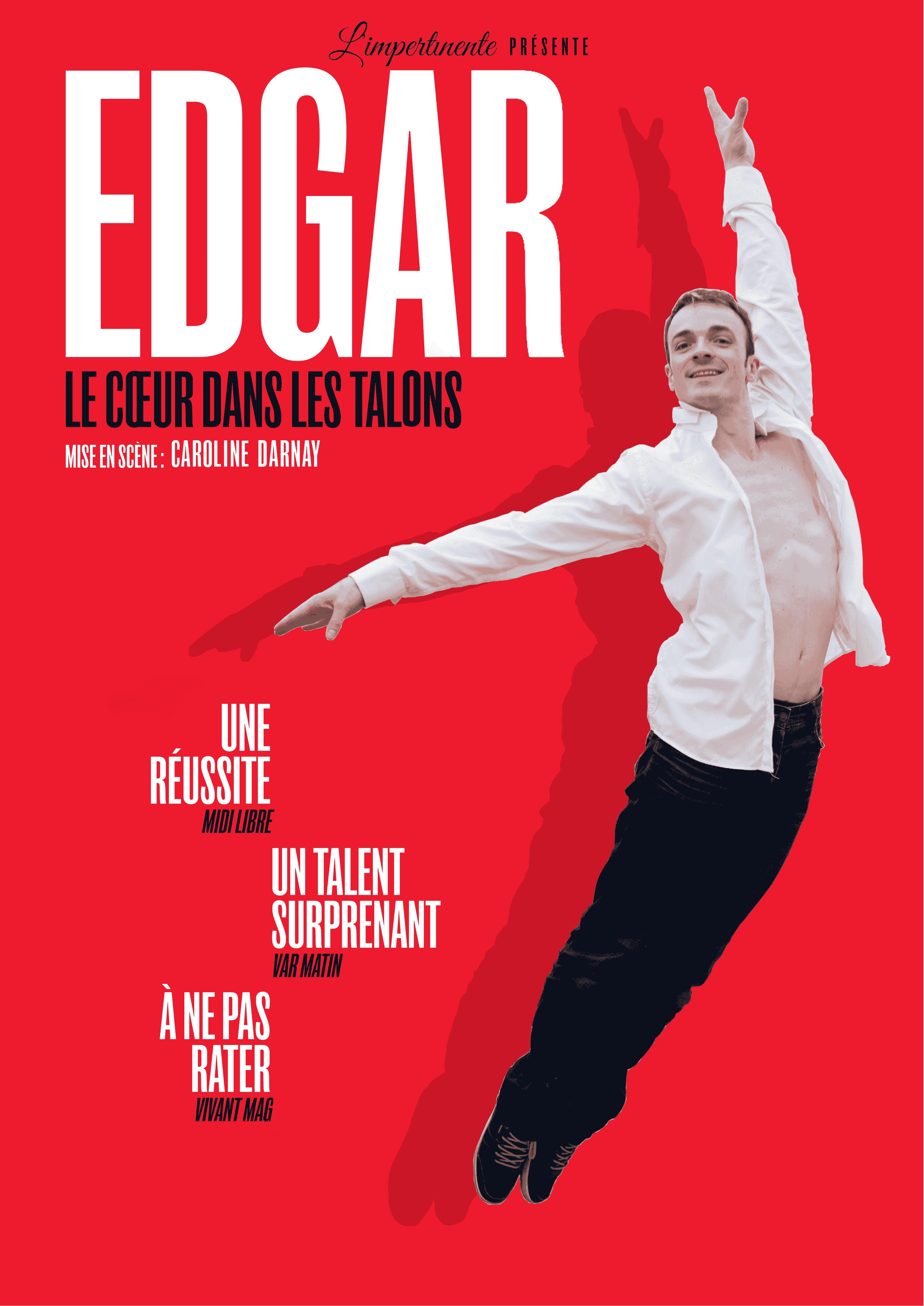 Edgar - Théâtre - Marseille - Spectacle - onmanshow - 13006