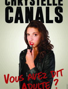 Chrystelle Canals - One woman show -humour - Art Dû -13006