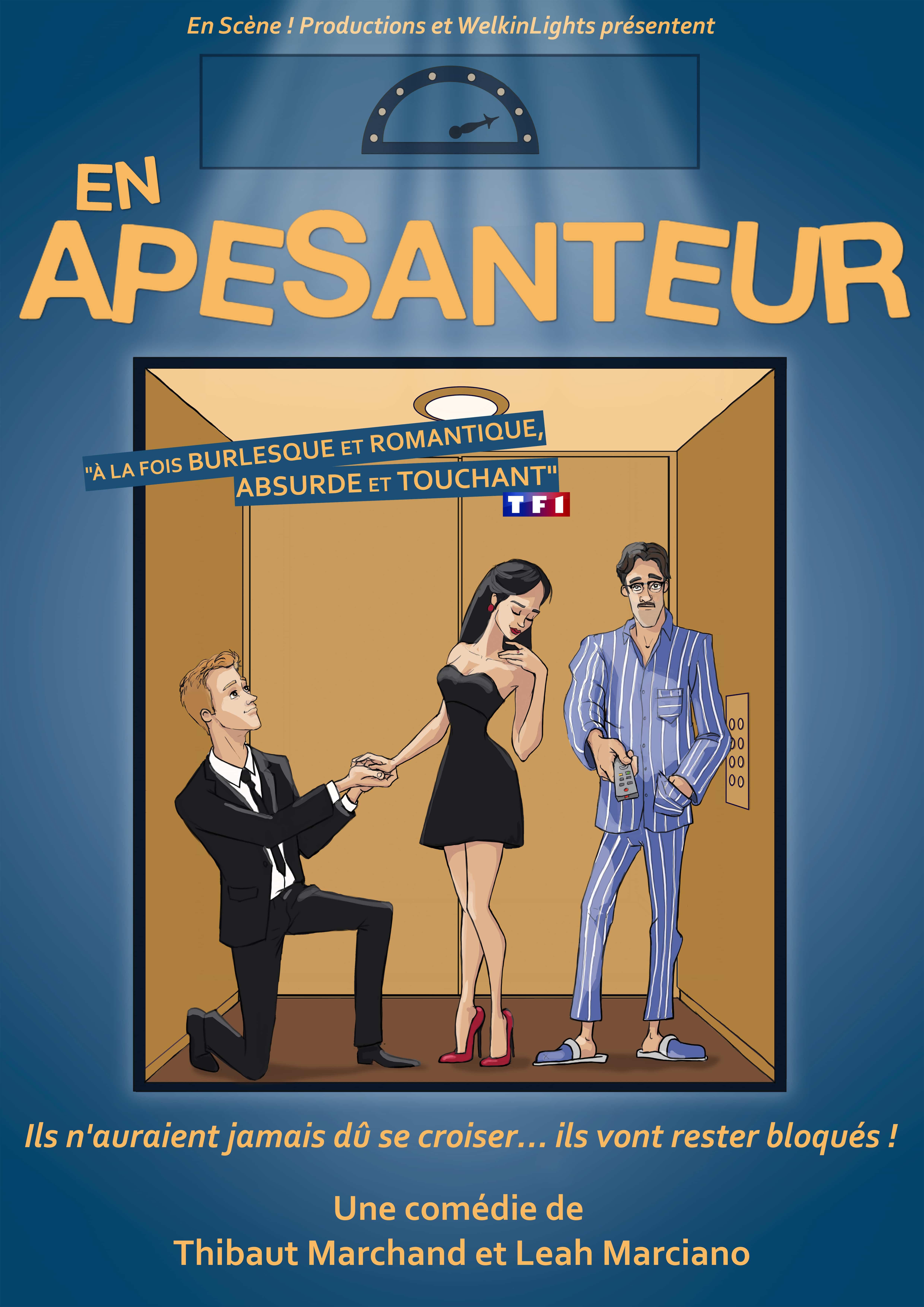 En apesanteur - Comedie - Theatre - Marseille - Art Du - 13006 - Humour