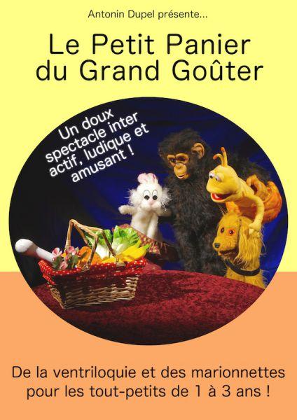 Le petit panier du grand gouter - spectacle bébé - jeune public - 13006 - théâtre Marseille -petite enfance