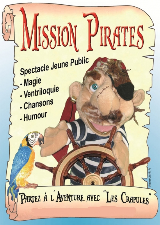 Mission Pirates - Art Dû - 13006 - Théâtre - Marseille - Jeune Publuc - Enfants