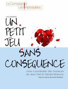 Un petit jeu sans conséquence - Théâtre L'Art Dû - Marseille - 13006 - Comedie - Marseille