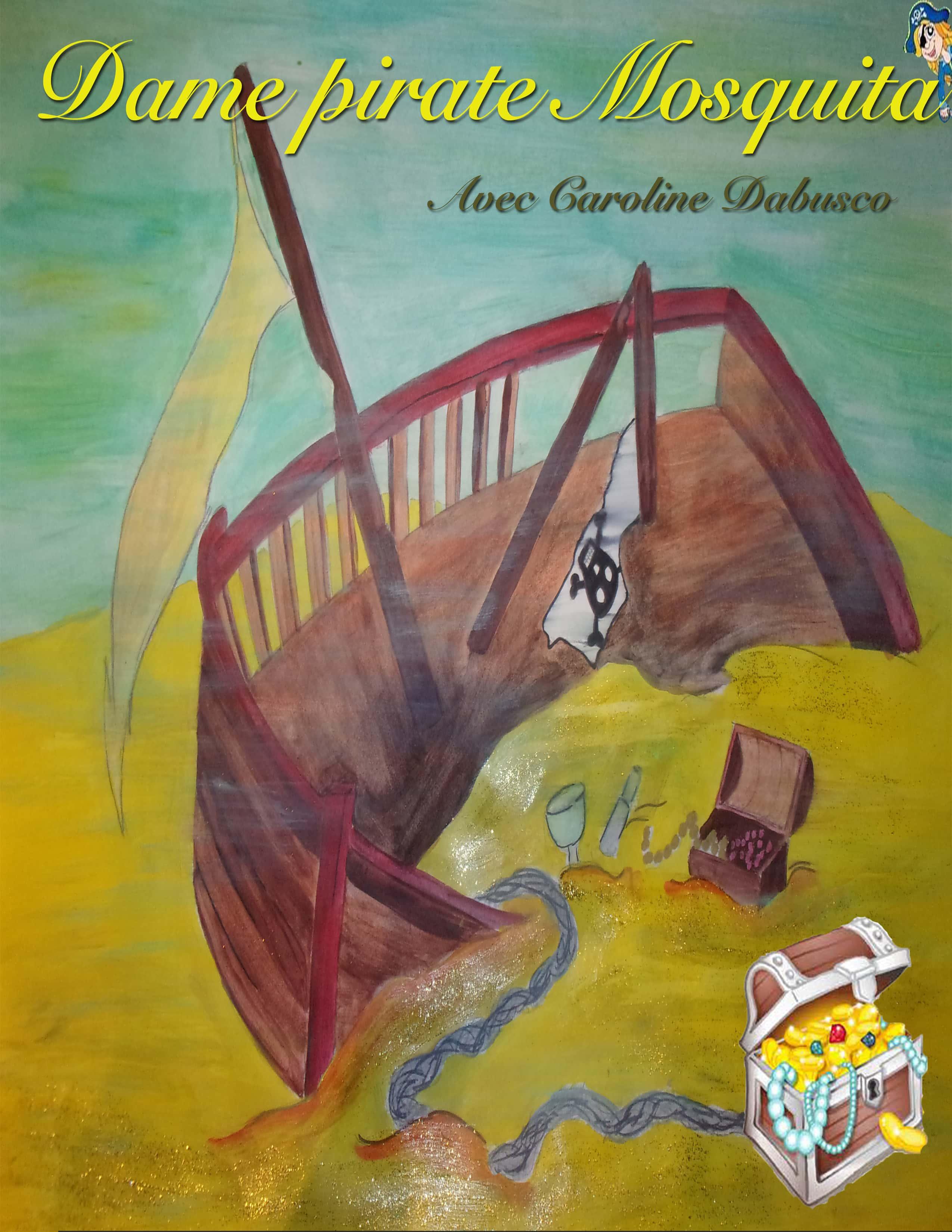 Dame pirate Mosquita - Théâtre Art Dû - Marseille - 13006- Spectacle enfant