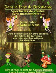Dans la forêt de Brocéliande - Théâtre L'Art Dû - Théâtre Marseille - Jeune Public - 13006