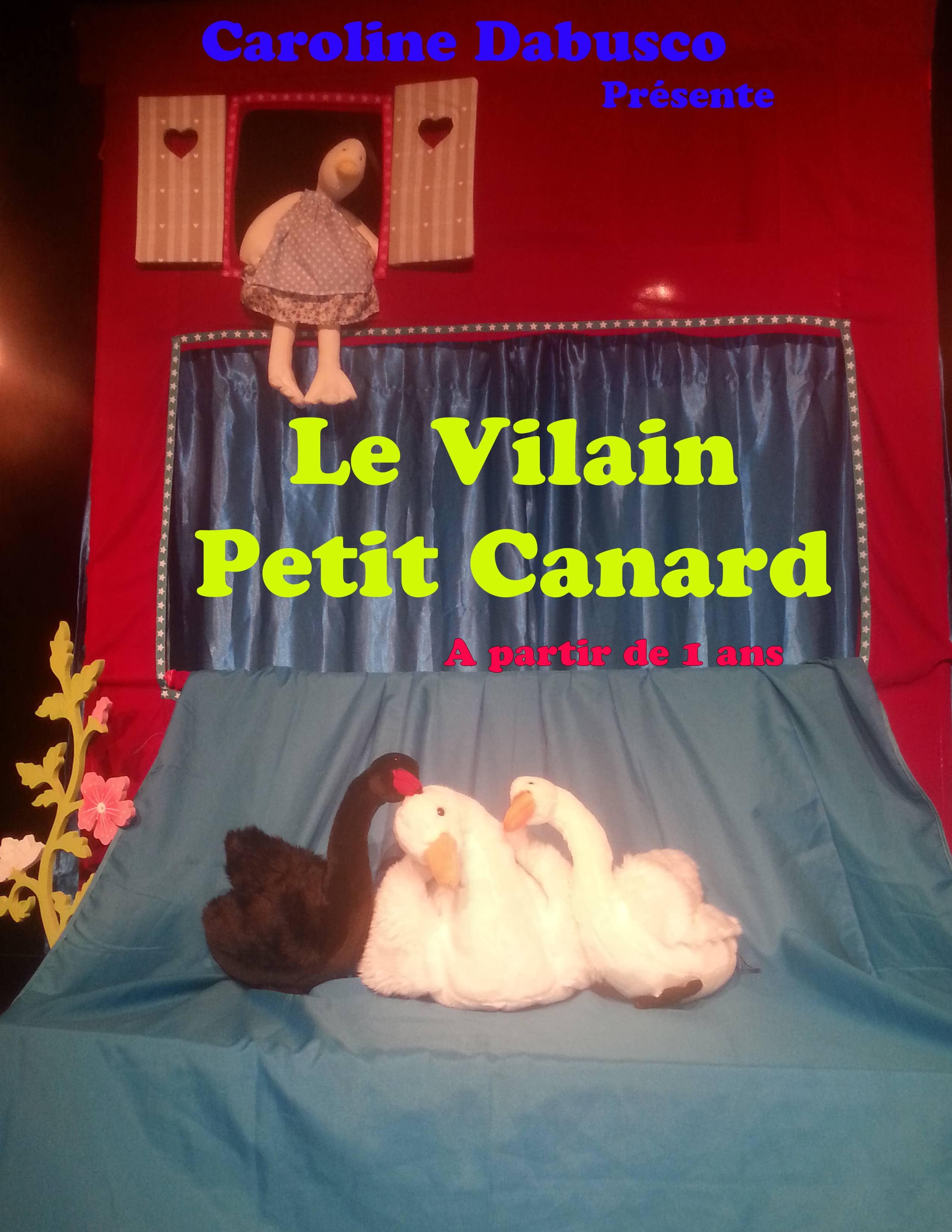 Le vilain petit canard - Spectacle enfant - Marseille - Théâtre - 13006