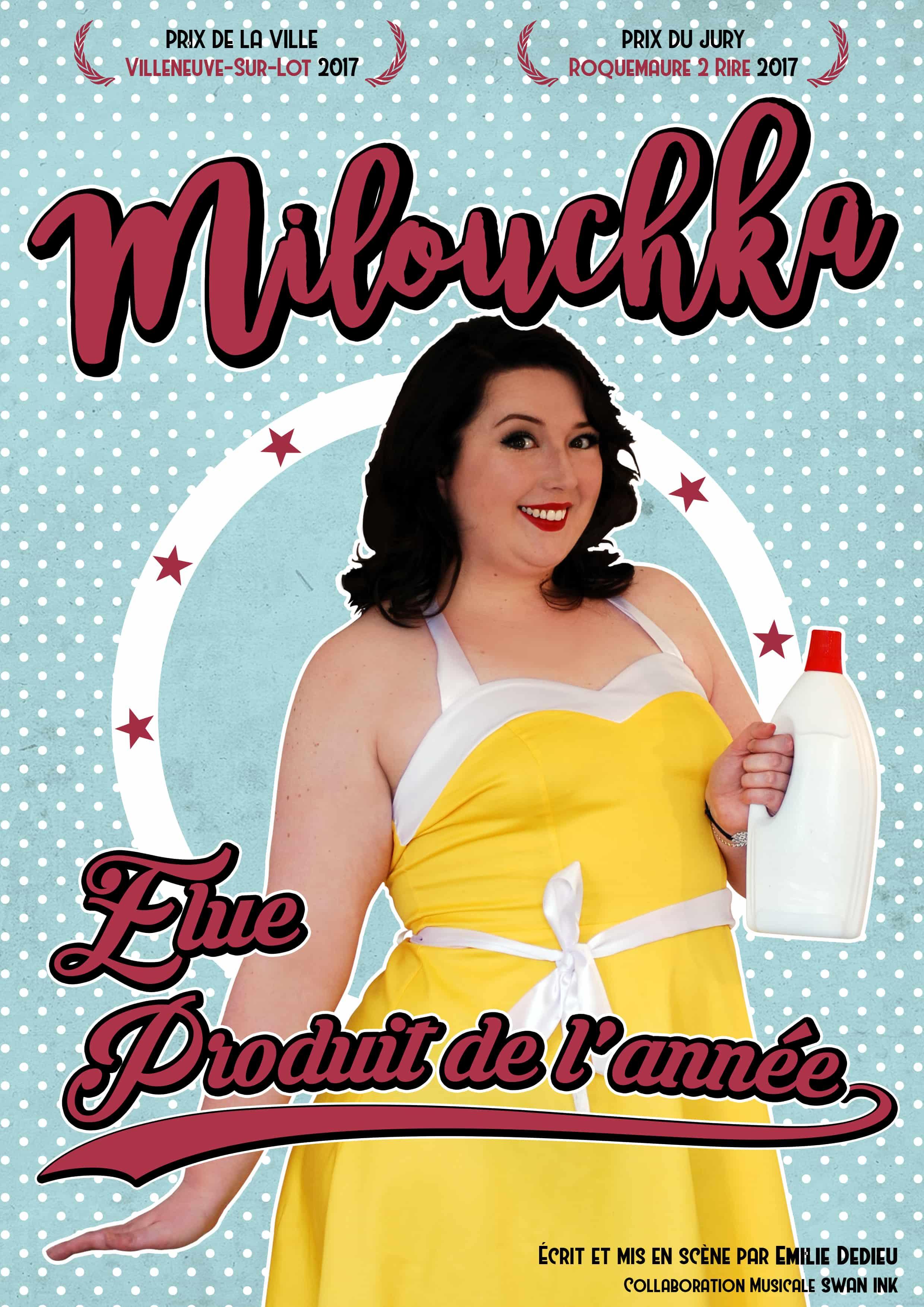 Milouchka - Art Dû - 13006 - humour - on woma, show - théâtre - marseille