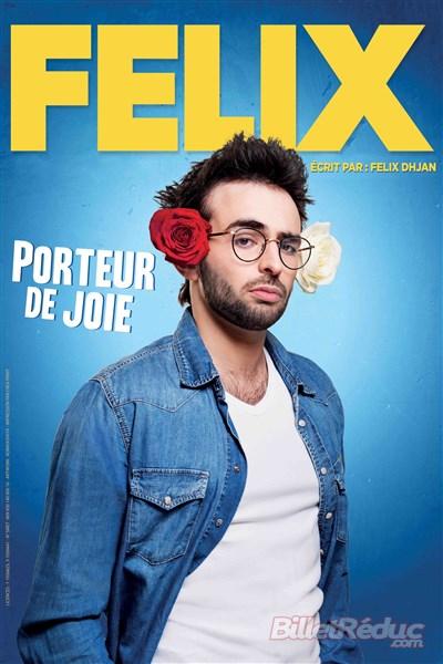 Felix porteur de joie - cactus comedy - One ùan show - humour - théâtre - marseillse - l'Art Dû - 13006
