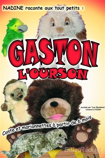 Gaston l'ourson - Compagnie les pipelettes -- spectacle enfant - musique - chanson - théâtre - marseille - L'art Dû - 13006