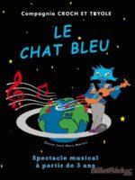 Le chat bleu - spectacle jeune public - théâtre marseille -conte -musical -marionnettes