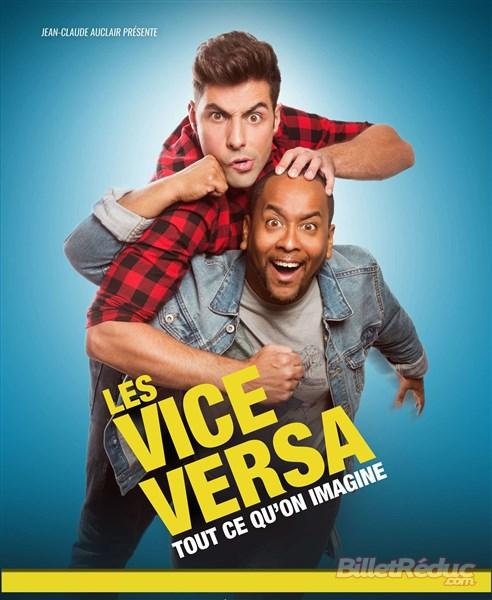 Les Vice versa - Théâtre - Marseille - 13006 - L'Art Dû - Duo Comique - Humoriste