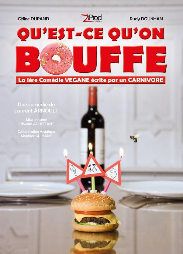 QQB - L'Art Dû - Théâtre - Marseille - Comedie - Spectacle - Babarudy - Celyne Durand - Laurent Arnoult