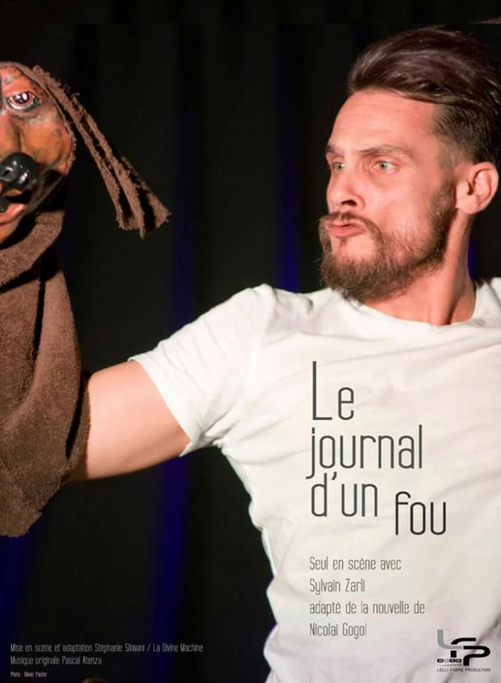 Le journal d'un fou - Gogol - Théâtre - Marseille - Spectacle - L'Art Dû - 13006