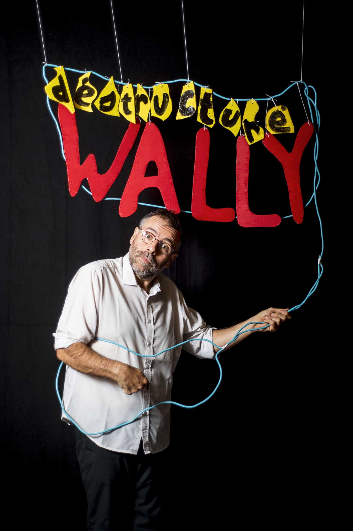 Wally - spectacle humour - chanson - marseille - théatre - 13006 - l'art dû