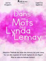 Dans les mots de Lynda Lemay - Théâtre - Marseille - L'Art Dû-min
