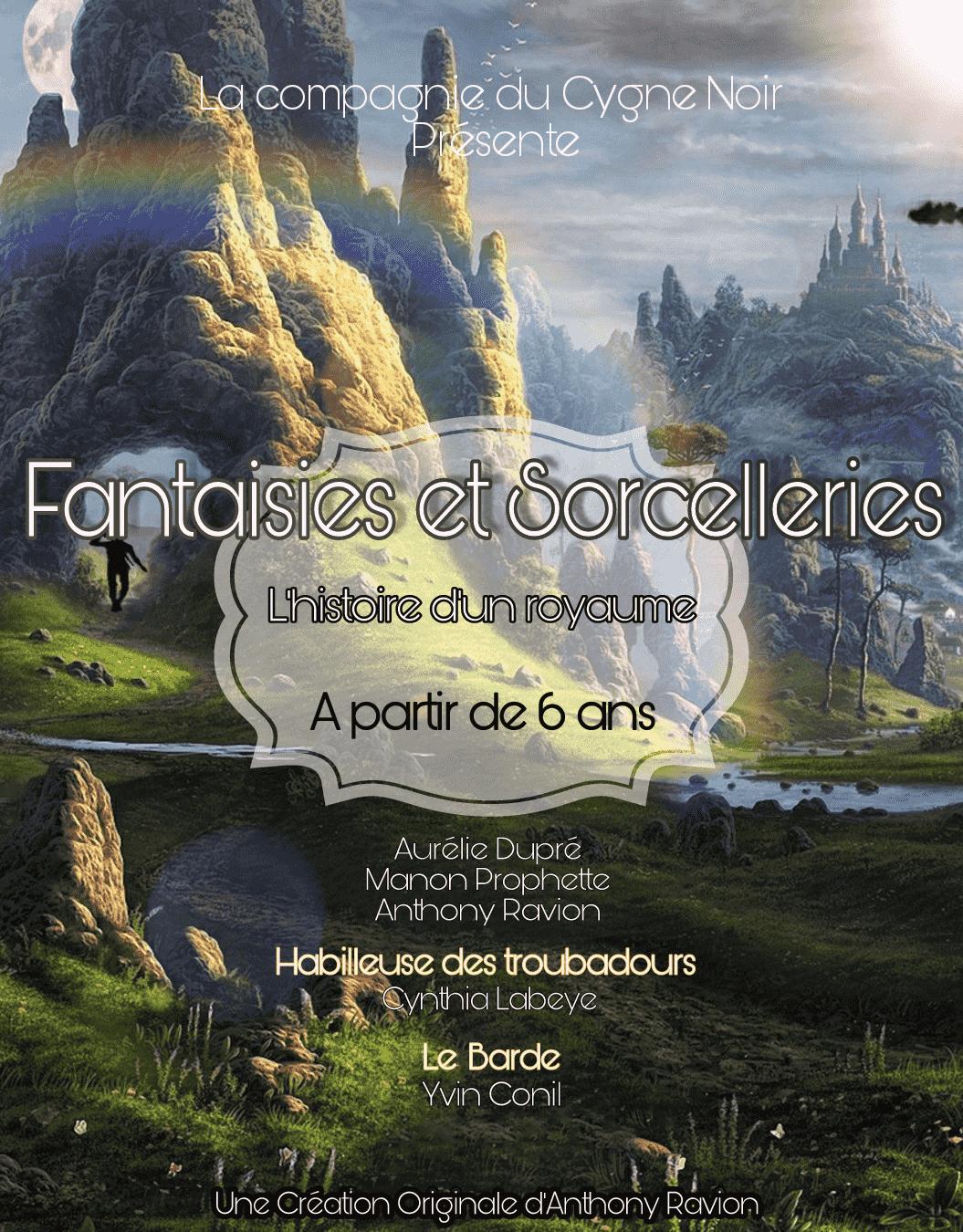 Fantaisies et sorcelleries - Marseille - Théâtre - Jeune Public - L'Art Dû - 13006