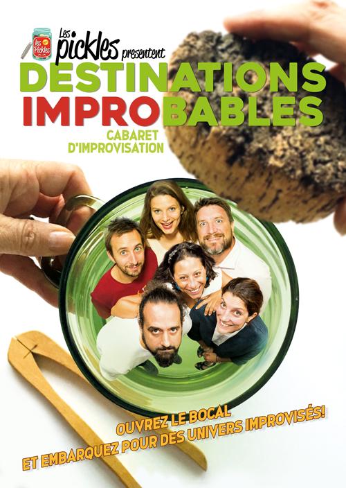 Destination Improbable - Impro - L'Art Dû - 13006