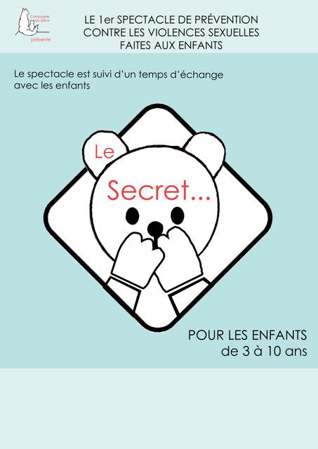 Le Secret - spectacle - prévention - jeune public - marseille - L'Art Dû -13006