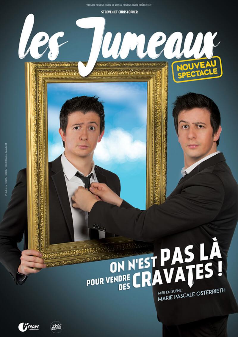 Les Jumeaux - Humour - Théâtre - L'Art Dû - 13006