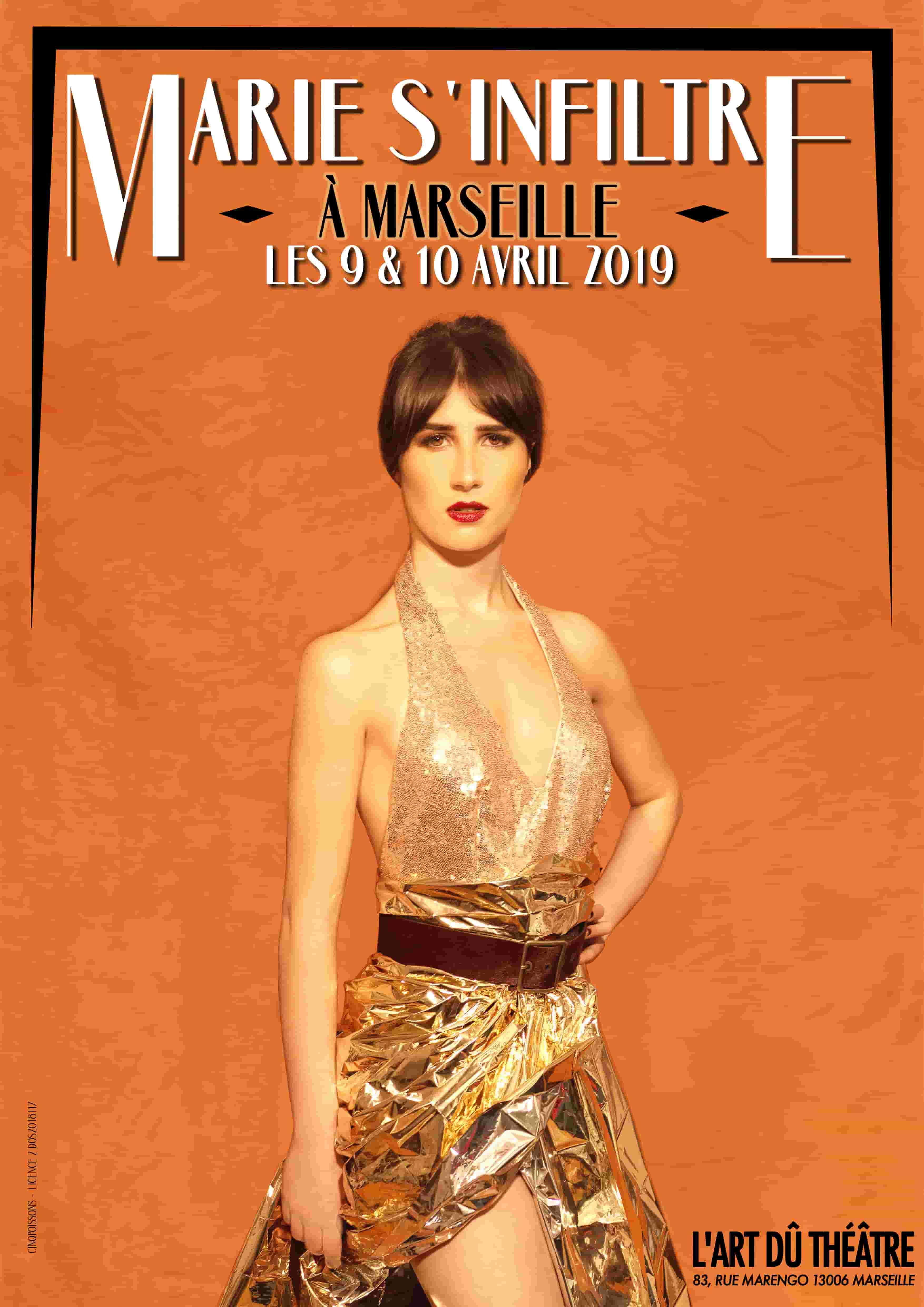 Marie s'inflitre - Humour - Marseille - L'Art Dû