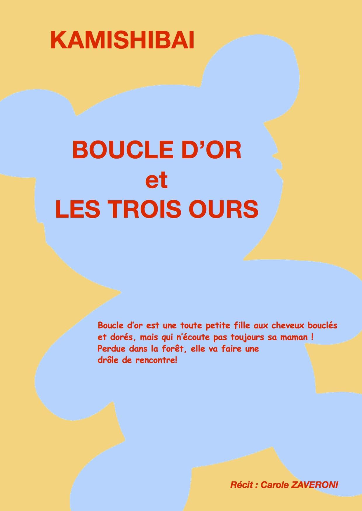 Boucle d'or - Les Pipelettes - L'Art Dû - Theatre Marseille - 13006