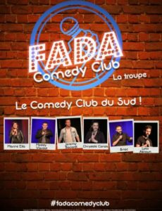 Fada Comedy Club - L'Art Dû - Marseille