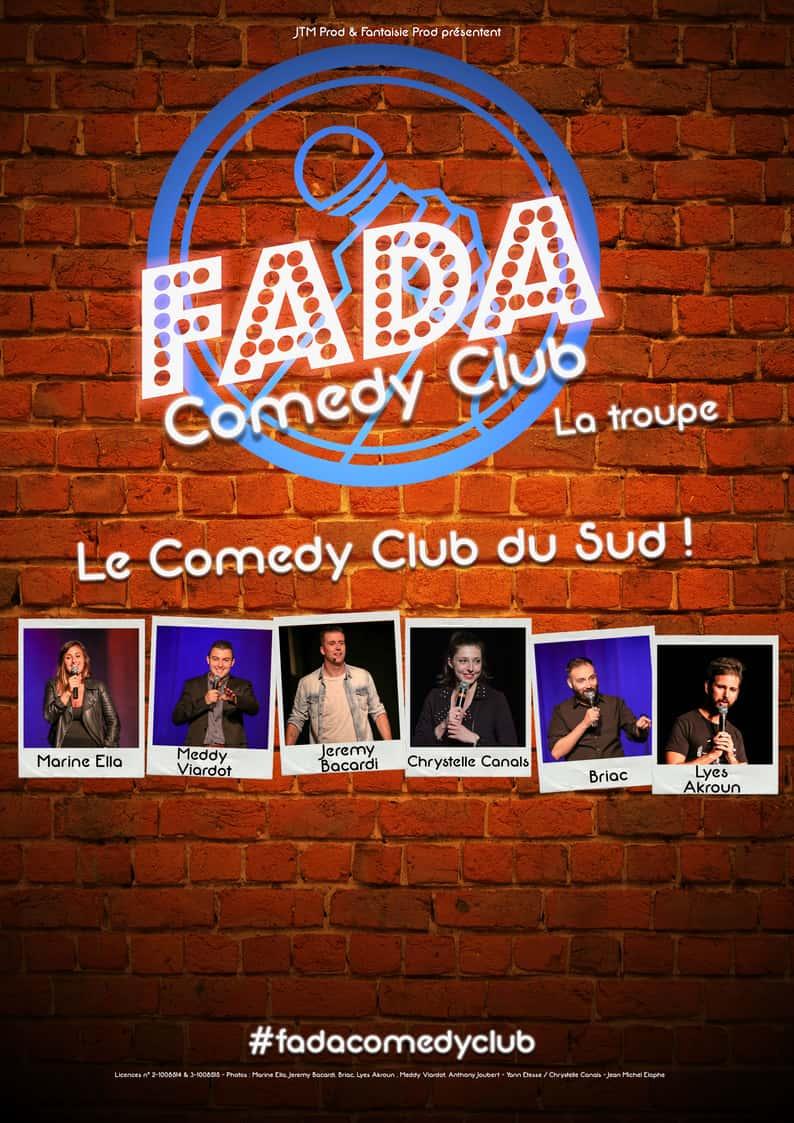 Fada Comedy Club - L'Art Dû - Marseille