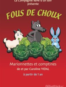 Foux de choux - Les Pipelettes - L'Art Dû - Theatre Marseille - 13006