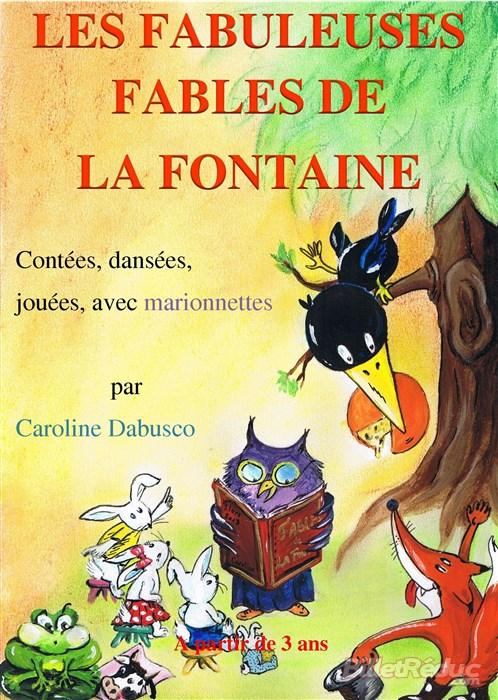 Les fables de la Fontaine - Théâtre l'Art Dû - Marseille - 13006