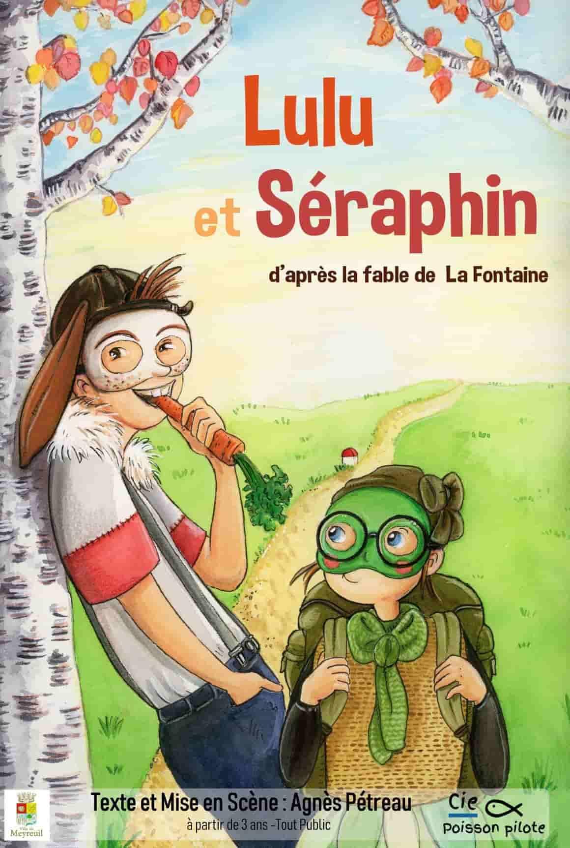 Lulu et séraphin - Cie poisson Pilote - L'Art Dû - Marseille - Théâtre - 13006