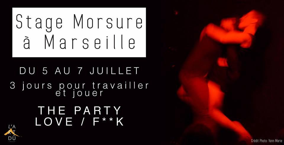 Stage - La Morsure - Marseille - Improvisation - Art Dû - 13006