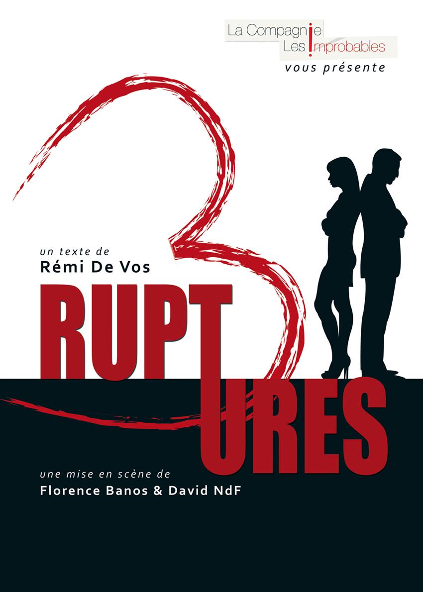 Trois ruptures - pièce - comédie -Art Dû - 13006 -theatre
