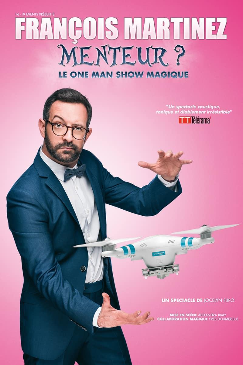Francois Martinez - Magicien - Marseille - L'Art Dû -13006 - Théâtre