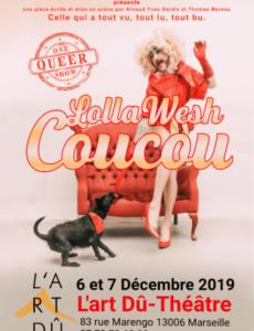 Lolla wesh - Coucou - Humour - seul en scène - L'Art Dû - Marseille