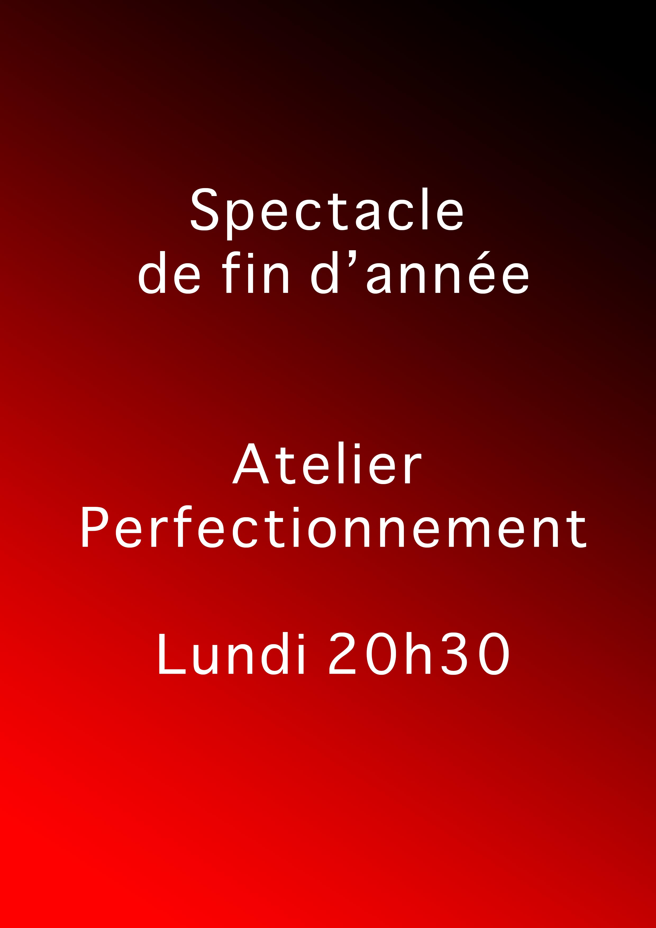 Perfectionnement Lundi