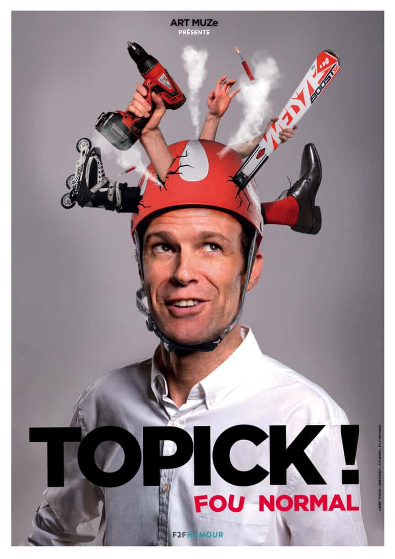 Topick - Humour - One man show - L'Art Dû - 13006