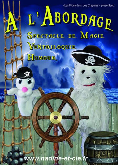 à l'abordage - Les Crapules - L'ARt Dû - Marseille - Théâtre - 13006