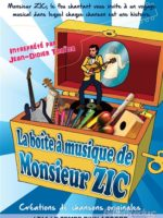 La boite à Zic - Spectacle enfant - Théâtre - L'Art Dû - Marseille - Jeune Public - 13006