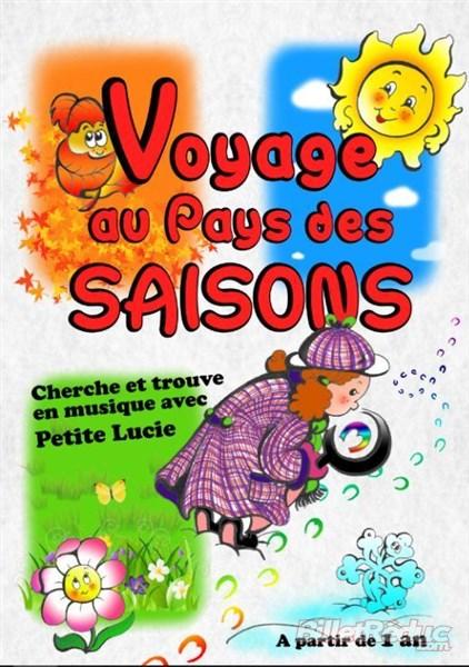 Le voyage des saisons - Spectacle enfant - Théâtre - L'Art Dû - Marseille - Jeune Public - 13006