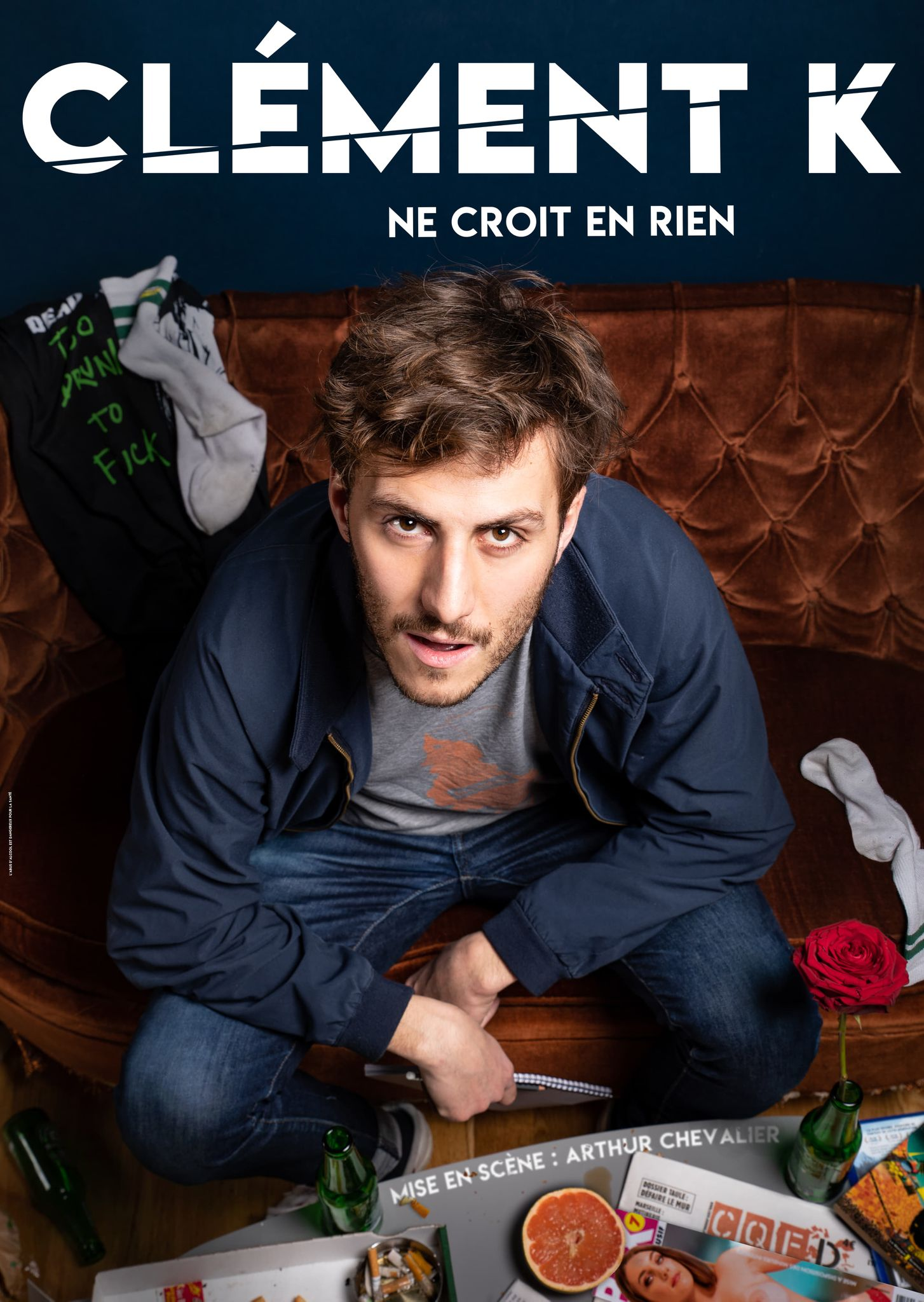 Clément K - One man - Stand Up - Humour - Art Dû - 13006 - Marseille