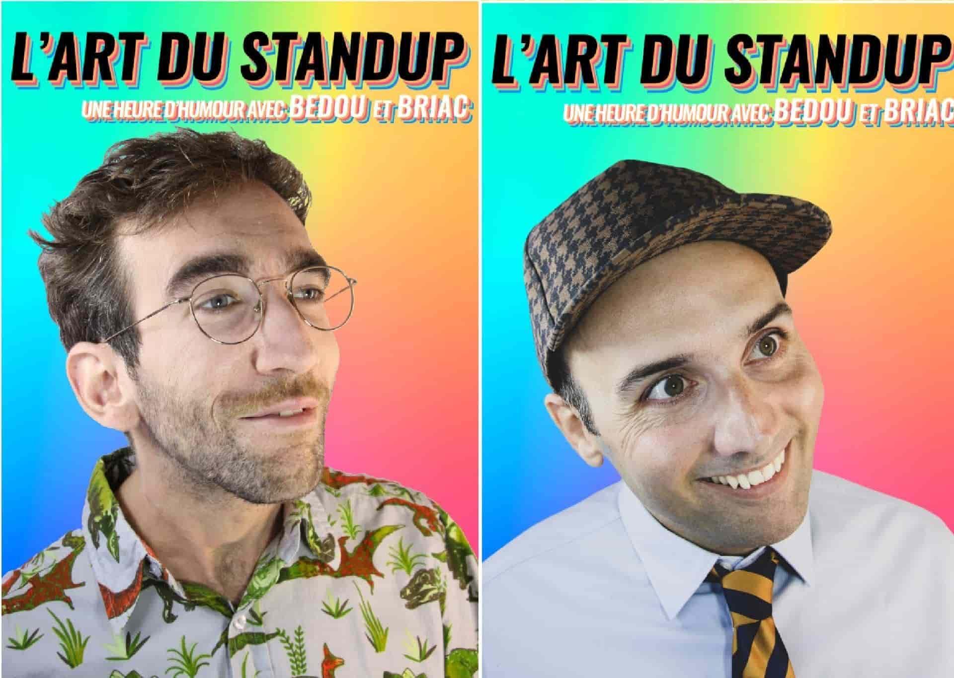 L'Art du stand up - Bedou - Briac - Rodage - L'Art Dû - Marseille - 13006 - Théâtre - Humour