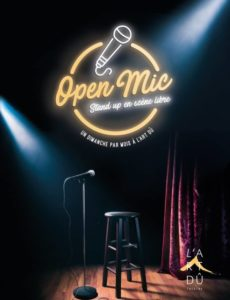 Open Mic - Scene ouverte - Marseille - L'ARt Dû - 13006