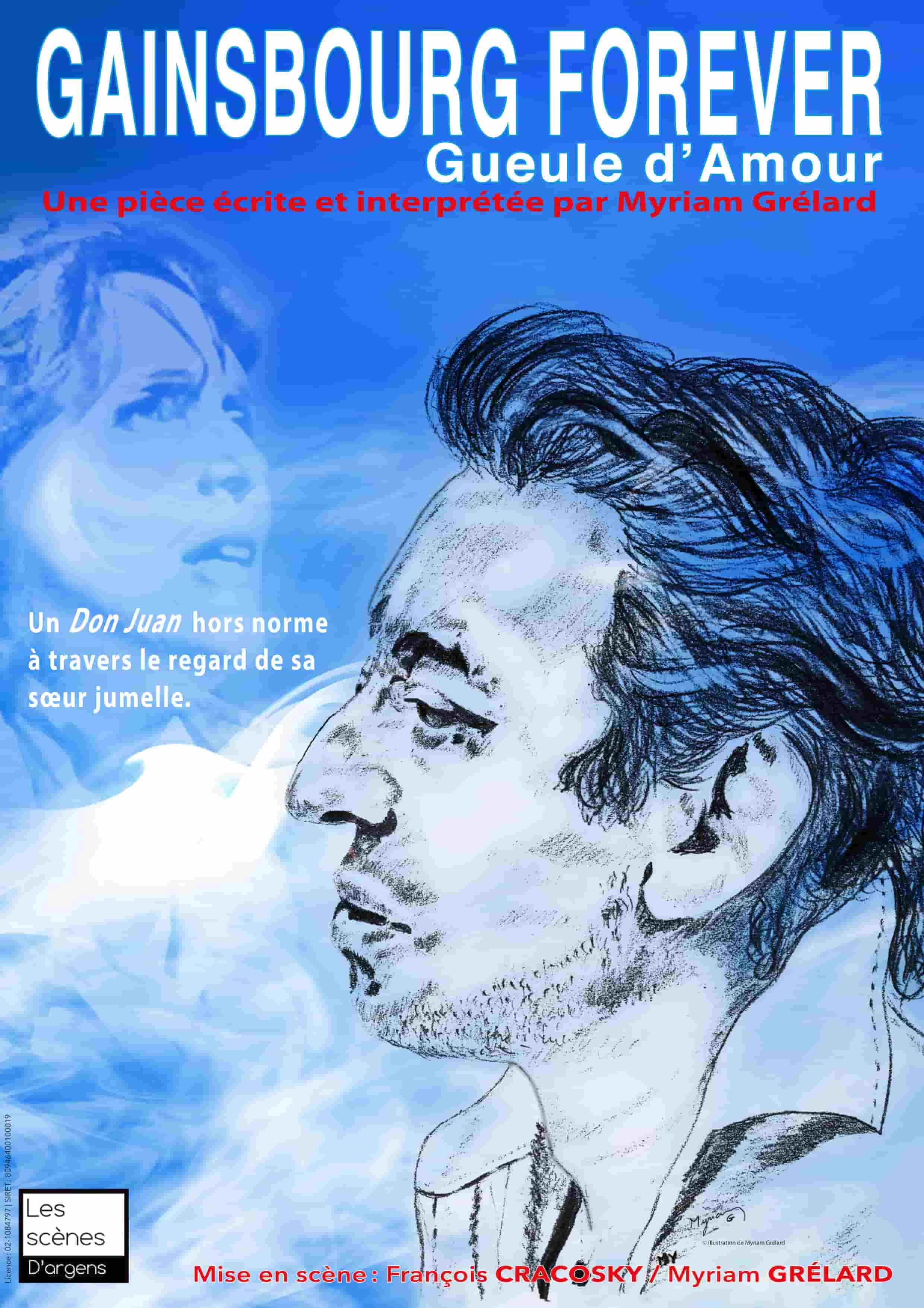 Gainsbourg forever - Marseille - Théâtre - Musique - Spectacle