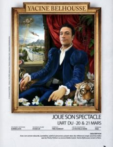 Yacine Belhousse - Stand Up - L' Art Dû - Marseille - 13006