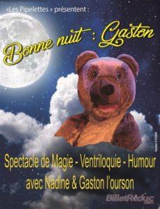 Bonne nuit Gaston - L'Art Dû - Jeune Public _ Marseille - Spectacle enfant