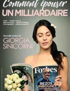 Comment épouser -un milliardaire - Théâtre - Marseille - L'ARt Dû - 13006