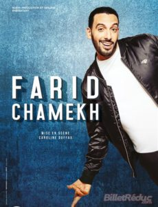 Farid Chamehk - marseille - L'art Dû - Théâtre - Humour - Stand up - One man show - Jamel Comedy Club
