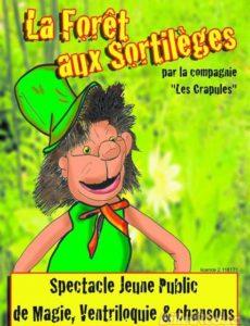 La forêt ax sortileges - L'Art Dû - Jeune Public _ Marseille - Spectacle enfant