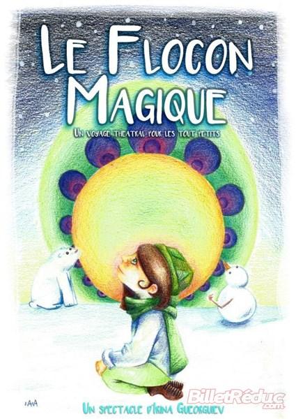 Le flocon Magique - L'Art Dû - Jeune Public _ Marseille - Spectacle enfant